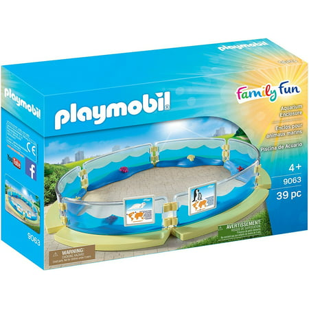 Aquarium Enclosure - Play Set by Playmobil - Toy Aquarium