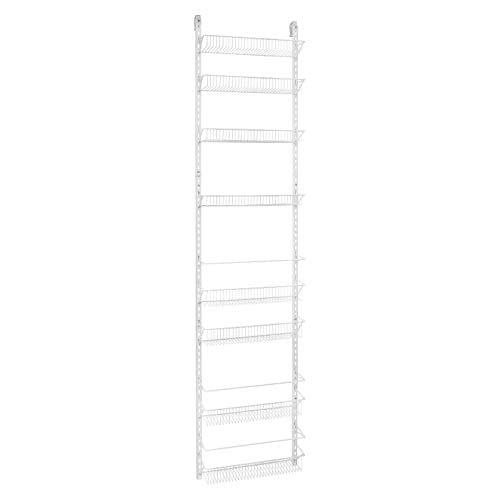 Db Roth 18 Inch Wide Adjustable Door Rack Pantry Organizer