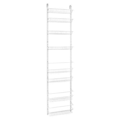 Db Roth 18 Inch Wide Adjustable Door Rack Pantry Organizer