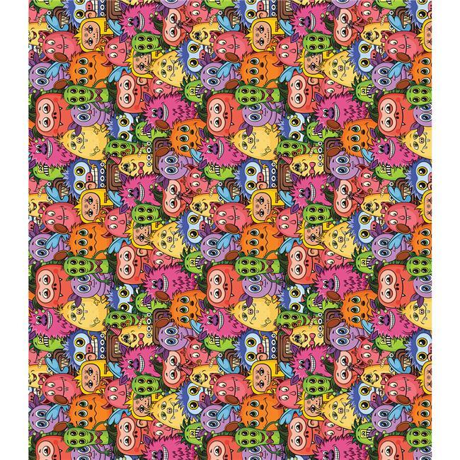 Decoupage Papers 13.75 x 15.75 in. 3 Pack - Little Monsters
