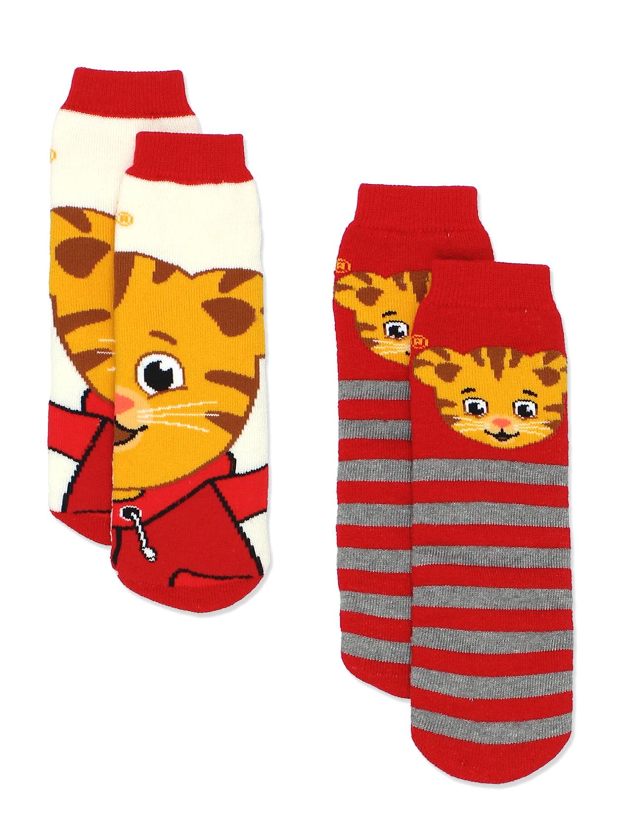 DTN55 Daniel Tiger/'s Neighborhood Boys 6 pack Socks Toddler