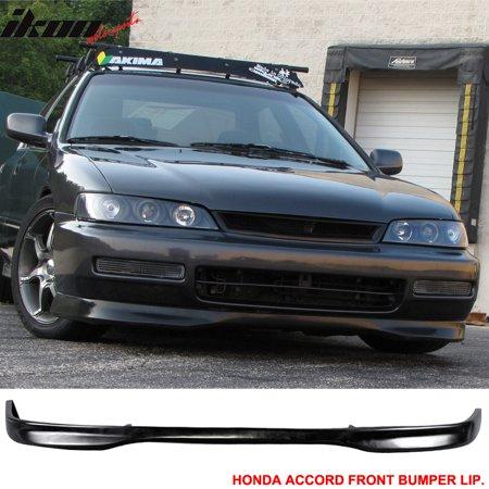 97 Honda Accord Kits Body (Fits 96-97 Honda Accord DX T-R PP - Polypropylene Front Bumper Lip Spoiler Body Kit 96 97 )