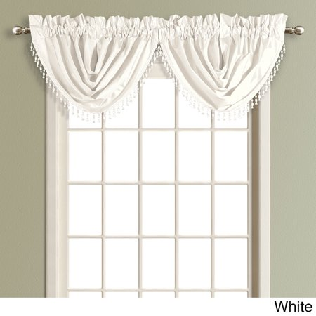 United Curtain Co Inc Anna Solid Color Faux Silk