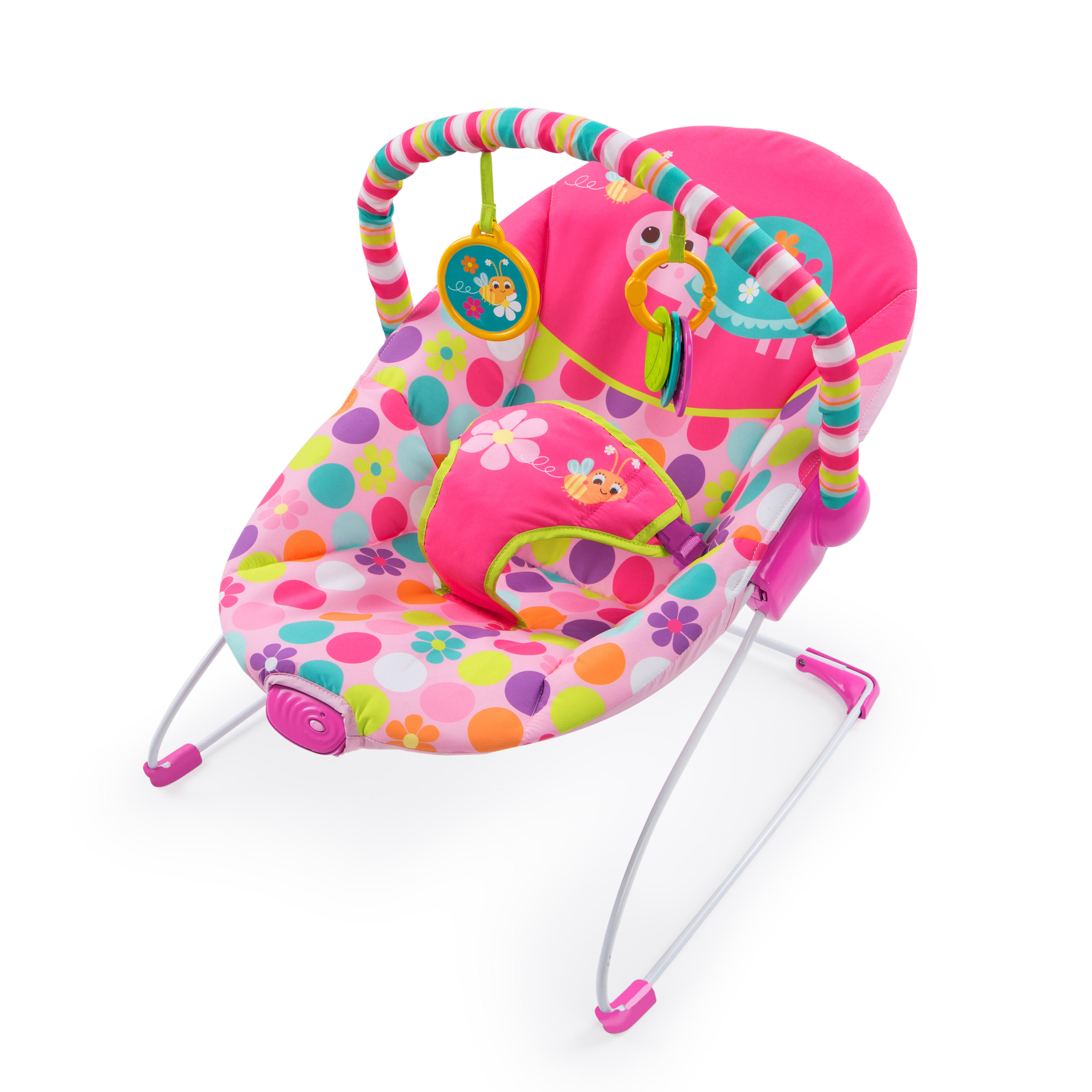 Bright Starts Pretty Pink Safari Bouncer