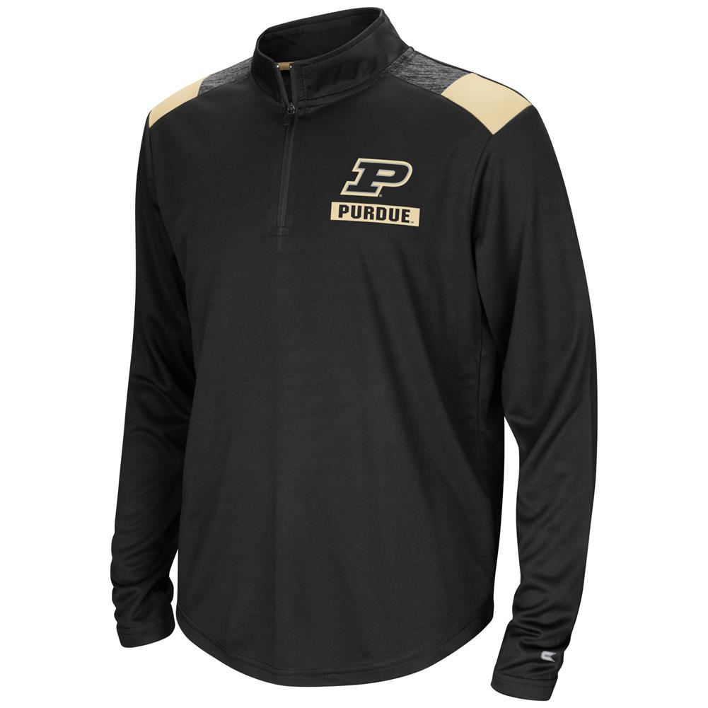 Purdue University Youth Boys 1/4 Zip 99 Yards Pullover