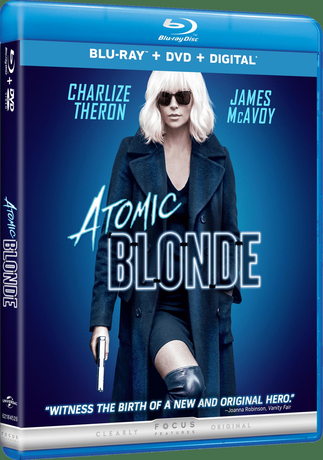 Atomic Blonde (Blu-ray + DVD + Digital) by Universal