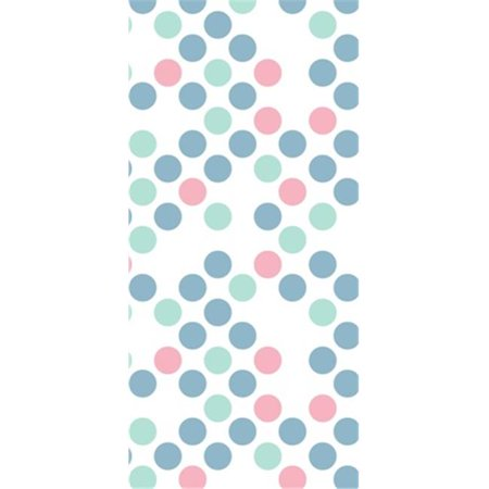 Make N Mold 5900P Polka Dot Favor Bags with Candy Ties, Pack of 12