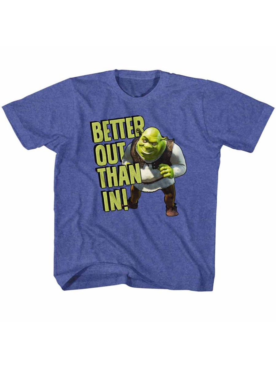 Shrek Movie Better Out Royal Heather Toddler Little Boys T-Shirt Tee