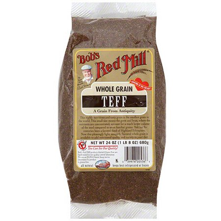 Bob's Red Mill Whole Grain Teff, 24 oz (Pack of (Grinding Whole Grains)