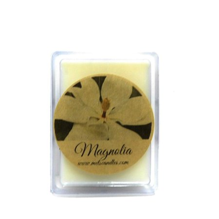 Magnolia 3.2 Ounce Pack of Soy Wax Tarts (6 Cubes Per Pack)- Scent Brick, Wickless (Wickless Soy Candles)