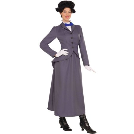Womens English Nanny Halloween Costume