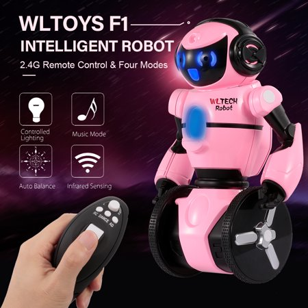 Wltoys F1 2.4G Remote Control Intelligent Motion Sensing Robot Carrier Robot RC Toy Gift for Children Kids Entertainment - image 2 of 7
