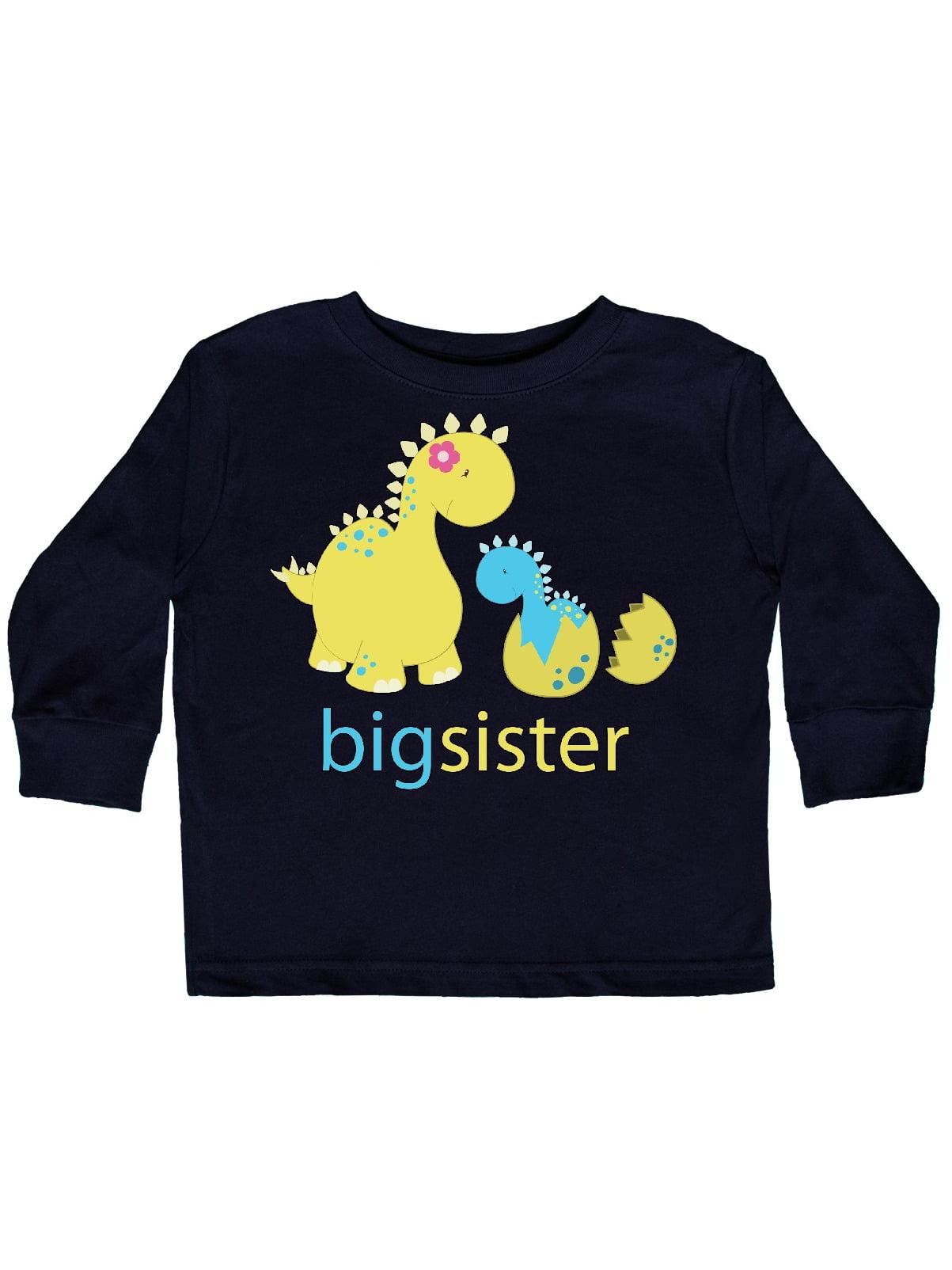 inktastic Big Sistersaurus Toddler Long Sleeve T-Shirt
