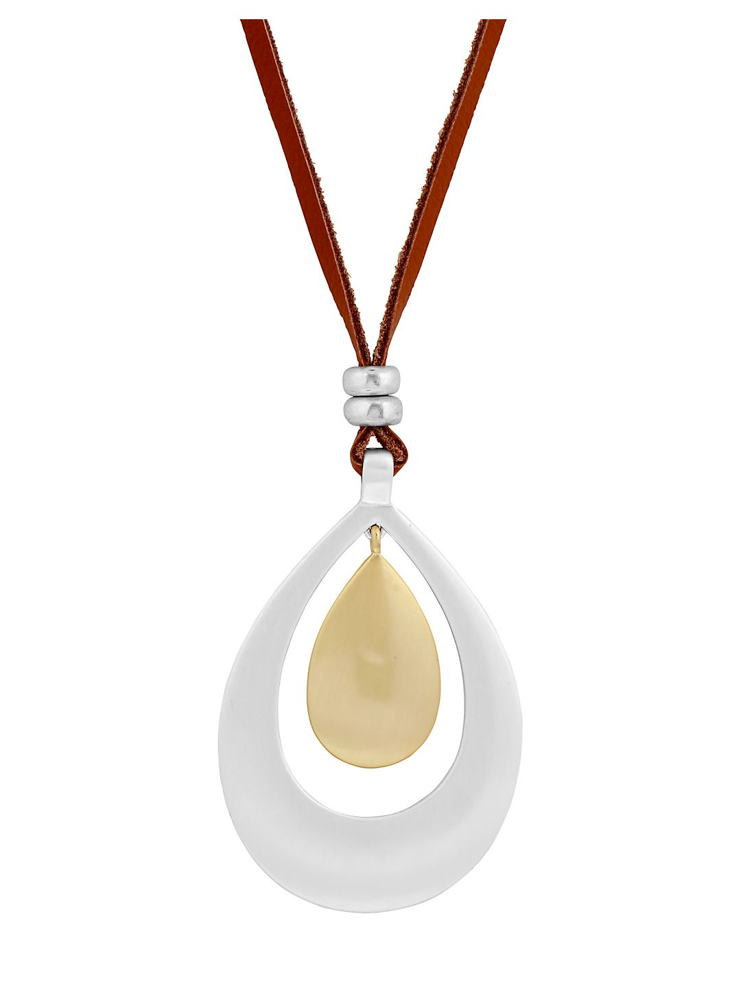 Poets Garden Teardrop Pendant Necklace