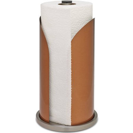 Honey Can Do Paper Towel Holder with Small Arm, Copper