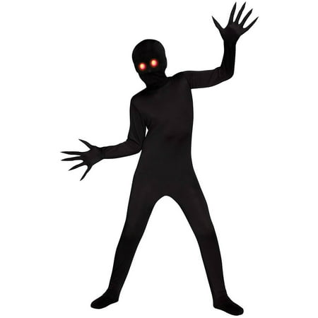Fade Eye Shadow Demon Child Halloween Costume, Medium (8-10) - Samhain Demon Of Halloween