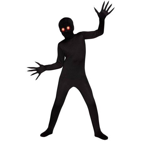 Fade Eye Shadow Demon Child Halloween Costume, Medium (8-10) - Demon Hunter Halloween Costume