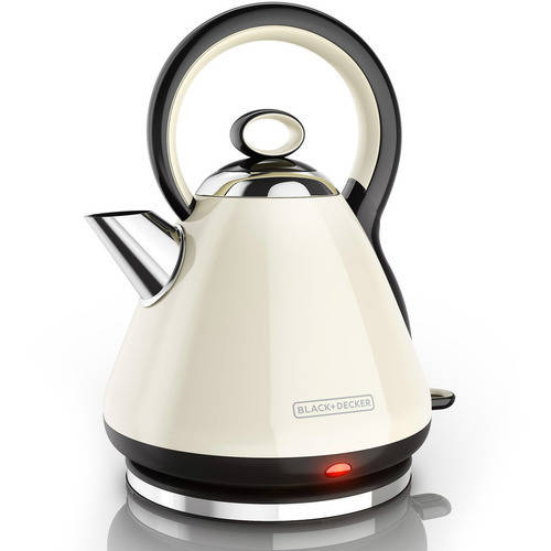 BLACK+DECKER 7-Cup Stainless Rapid Boil Cordless Electric Kettle, KE2900B by Black & Decker
