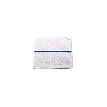 1 PACKS :Chef Revival 700BRT-BLS Blue Striped Bar Towel - Dozen