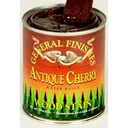 General Finishes Water Based Wood Antique Cherry Stain, Quart