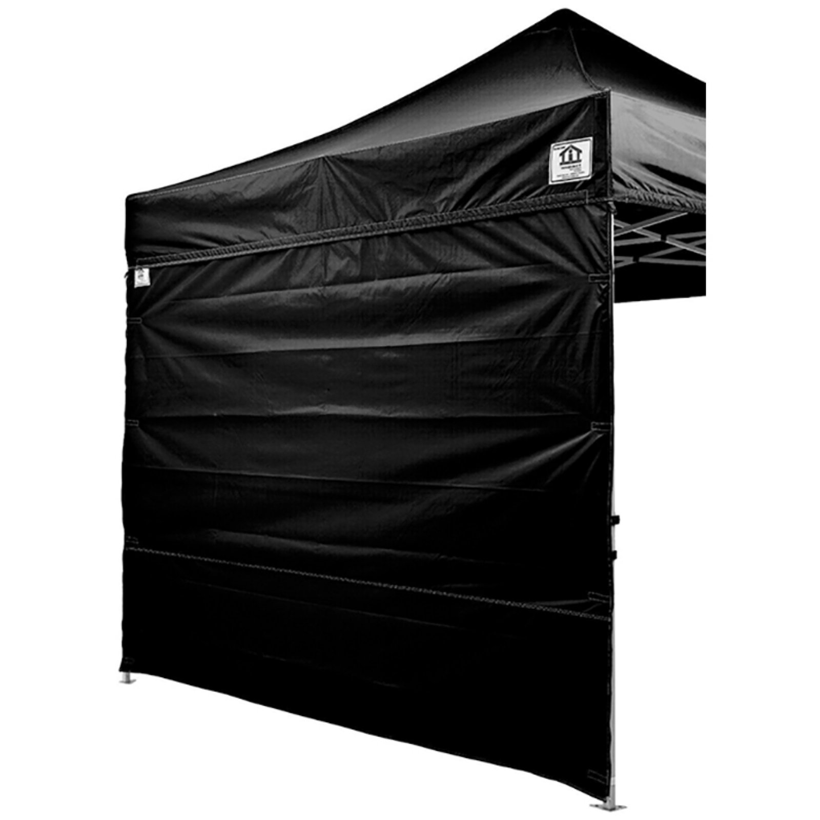 Impact Canopy Alumix 10x10 ft. Ez Pop Up Canopy Tent Instant Canopy With Roller Bag and Sidewalls