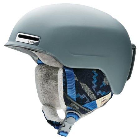 Allure Adult Ski Snowmobile Helmet - Matte Frost Woolrich / Medium, AirEvac 2 ventilation By Smith Optics