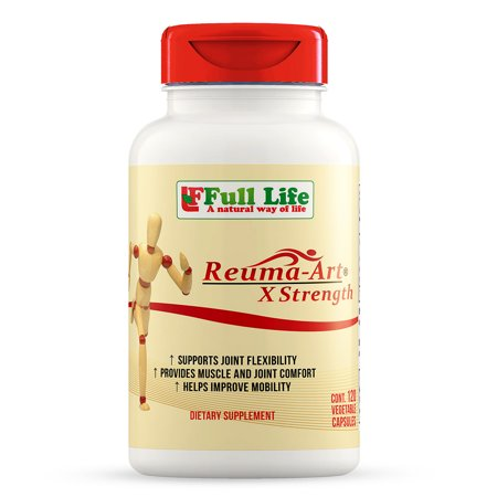 Full Life Reuma-Art X-Strength Joint Mobility & Flexibility, 120 (Foods 120 Caps)