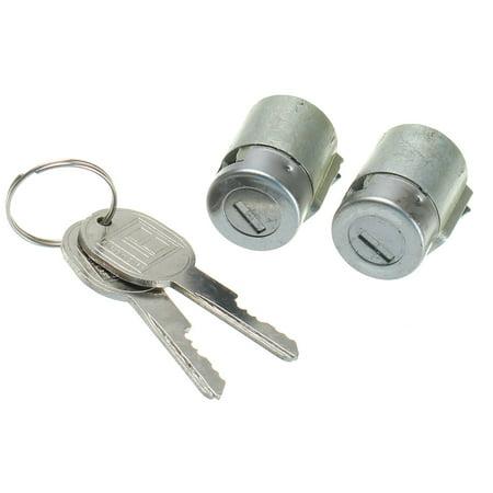 1Pair Lockcraft Door Lock Cylinders + 2 Keys for Car Door Lock Chevrolet Suburban Truck C/K Suburban Tahoe S10
