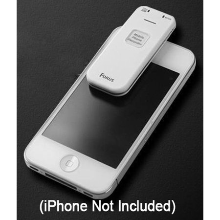 Forus FSV-U2 Cell Phone Call Recorder for iPhone, Android, or Any Smartphone - Conversation Voice Recording Device - image 1 de 7