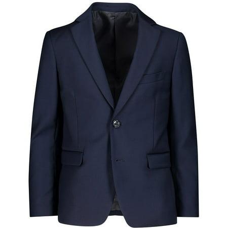 Isaac Mizrahi Boys' Solid Sport Blazer - - Navy Blazer Boys