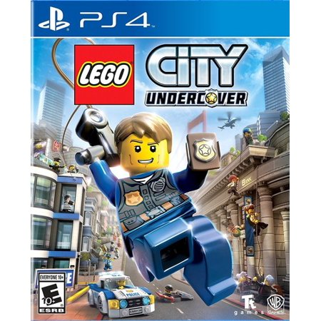 LEGO City Undercover, Warner Bros, PlayStation 4 (Party City College Station)