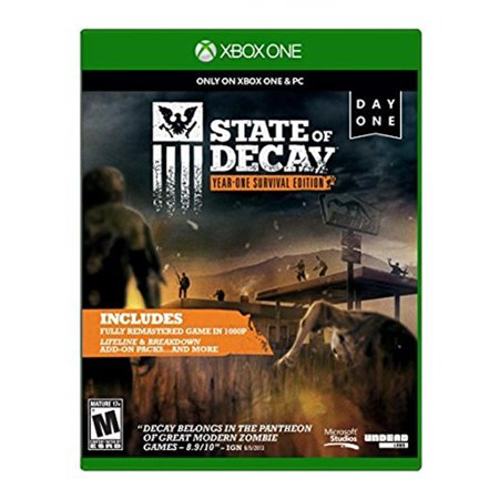Microsoft State of Decay: Year One Survival Edition Day One Edition - Xbox (Best Survival Games Xbox One)