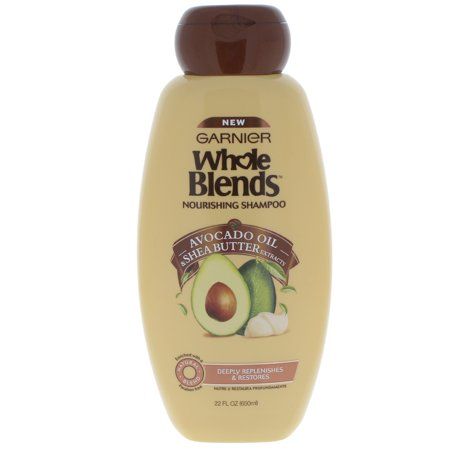 Garnier Whole Blends Shampoo with Avocado Oil & Shea Butter Extracts 22 FL