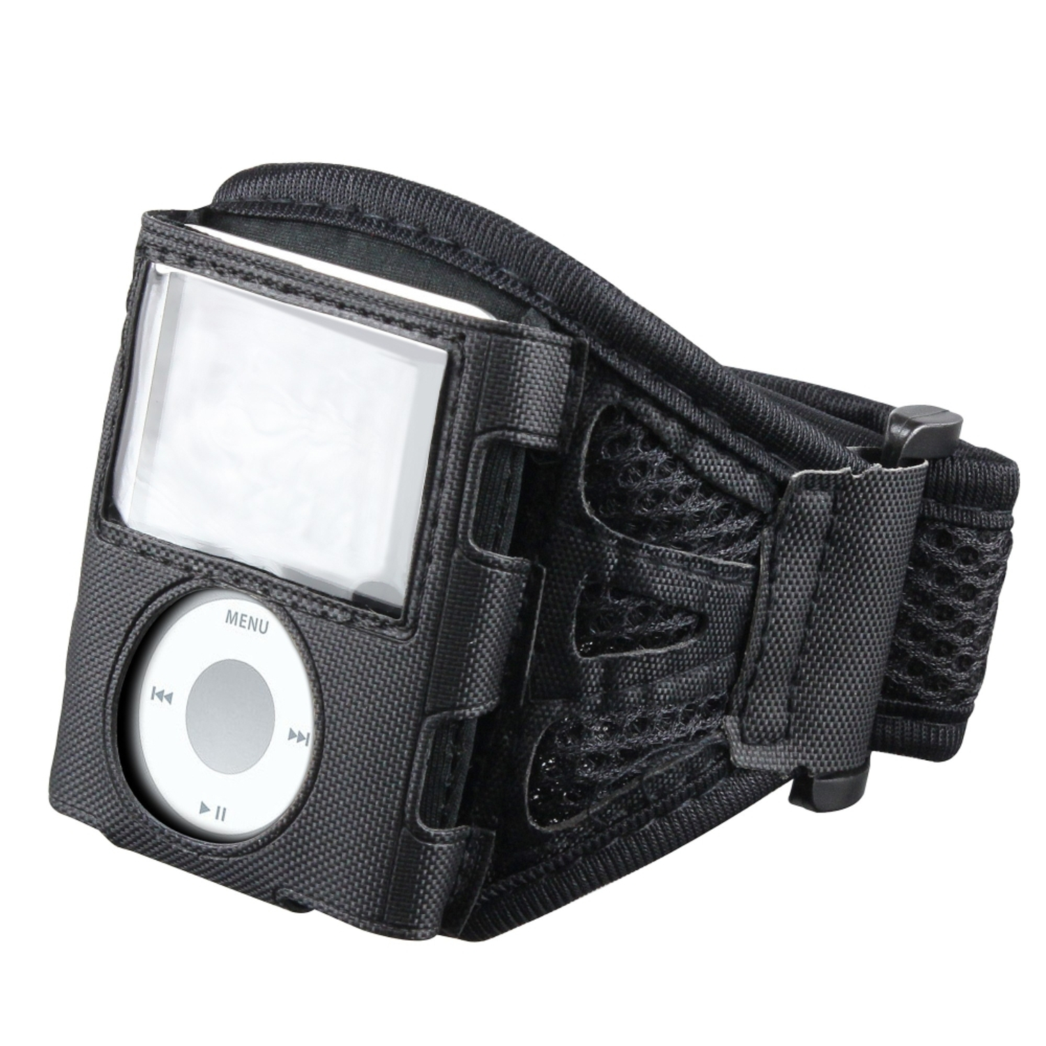 Insten Deluxe Sports ArmBand Case For Apple iPod Nano 3rd Gen 3 3G , Black