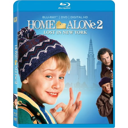 Home Alone 2: Lost in New York (Blu-ray + DVD) New York Collection Milano