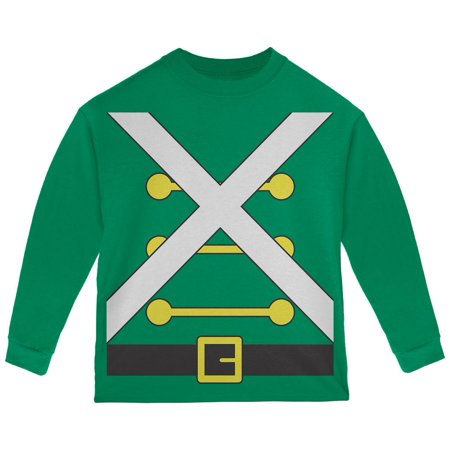 Christmas Toy Soldier Costume Toddler Long Sleeve T Shirt (Toy Soldiers Christmas)