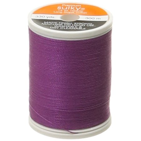 Orchid Embroidery - 12wt Cotton Thread, 330 yd, Orchid Kiss, Make a more beautiful, bolder statement on your quilting, serging, embroidery, handwork and other decorative projects with Sulky.., By Sulky Of America