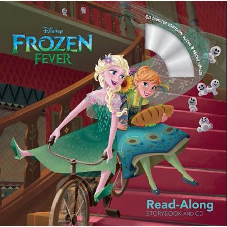 Frozen Fever Read-Along Storybook and CD - Halloween Read Along Stories