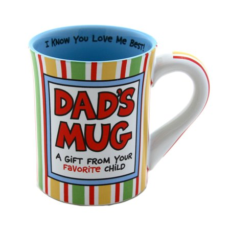 Dad's Mug A Gift from your favorite child Funny Coffee Mug Fathers Day Gift, Dad Gift ()