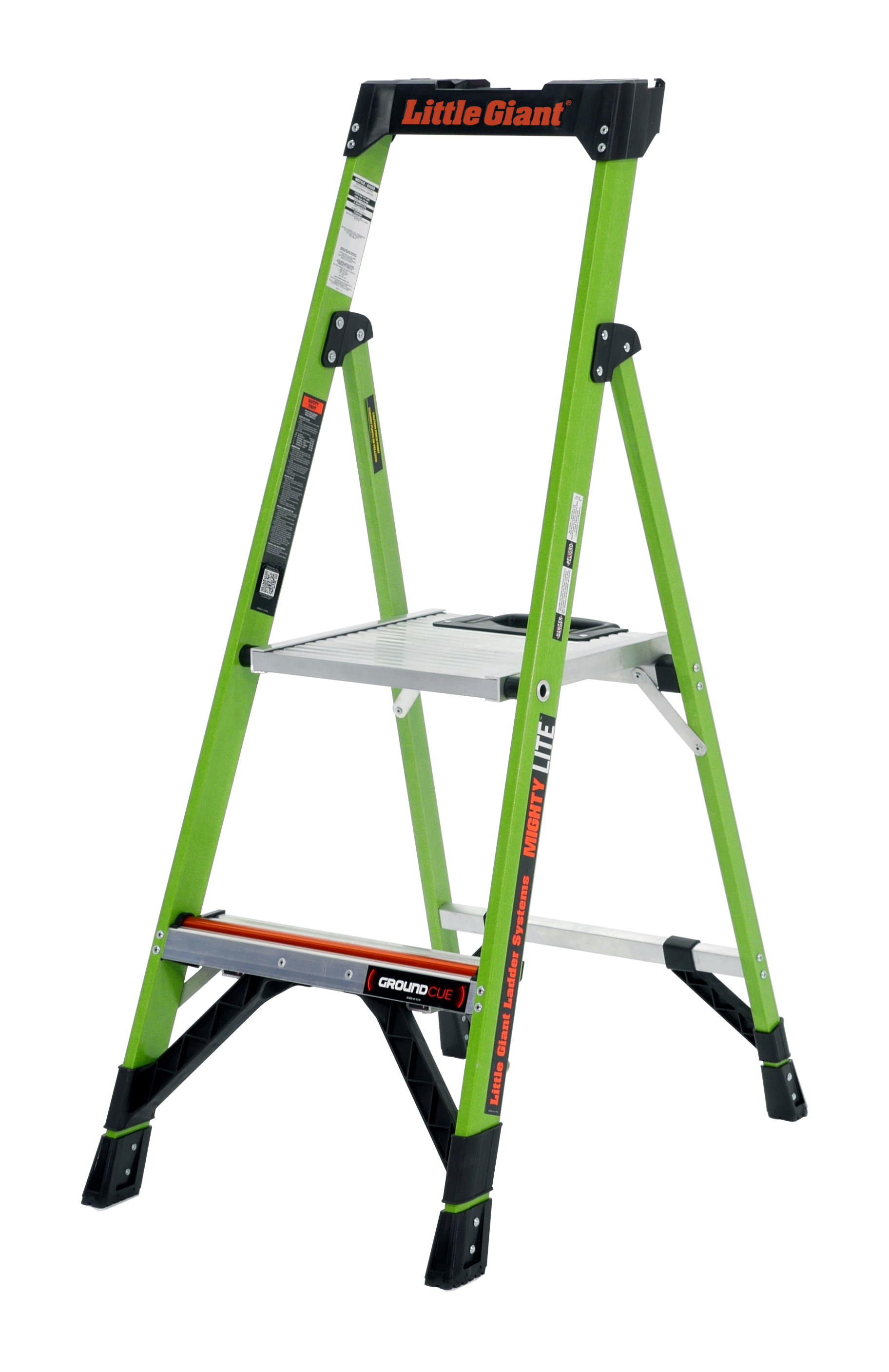Little Giant MightyLite, Model 4', Type IA 300 lbs rated, fiberglass stepladder by Wing Enterprises, Inc.