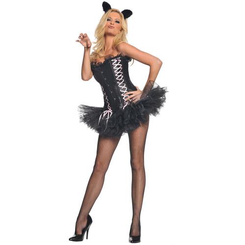 Sassy Kitty Halloween Costume