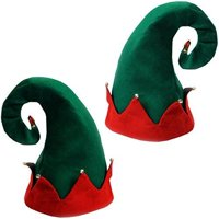 2 Pack Elf Hats - Christmas Holiday Hats