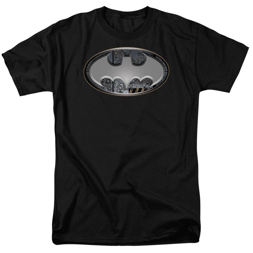 Batman Steel Wall Shield S S Adult 18 1 Black Bm1754 by Trevco