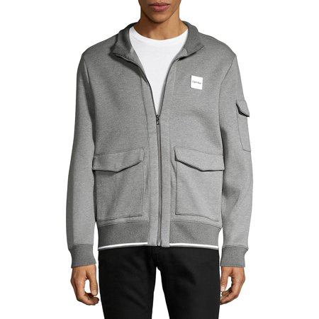 Tipped Zip Knit Jacket