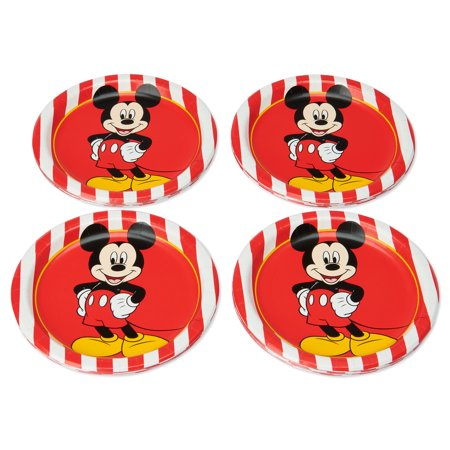 American Greetings Mickey Mouse Paper Dessert Plates, 36-Count (Mickey Mouse Halloween Printable Coloring Pages)