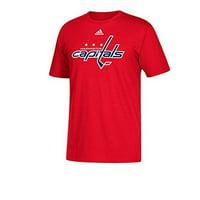 Washington Capitals Men s Adidas NHL Primary Logo T-Shirt - Red XXL 5e7fb6341