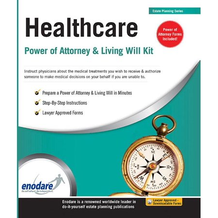Healthcare power of attorney living will kit walmart healthcare power of attorney living will kit solutioingenieria Gallery