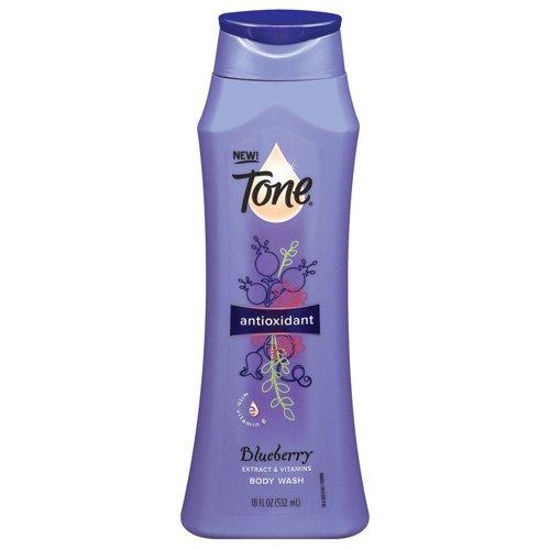 Tone Antioxidant Body Wash with Vitamin E, Blueberry Extract 18 fl oz (532 ml)