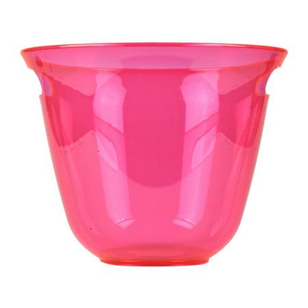Mainstays Summer Neon Acrylic Round Beverage Tub, Pink