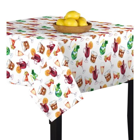 Mayo Table (Fabric Textile Products Cinco De Mayo Tablecloth)